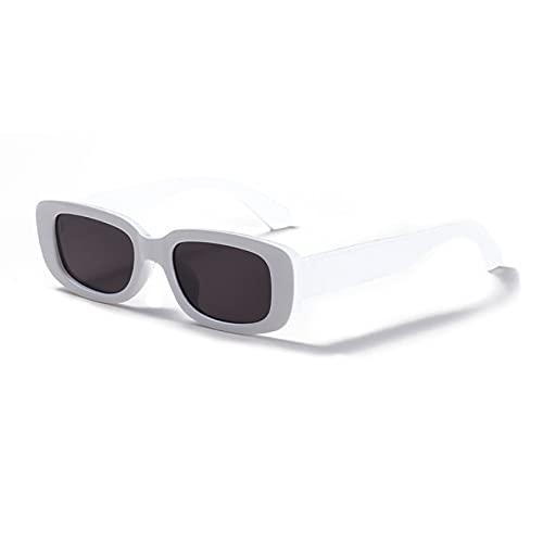 LUOXUEFEI Gafas De Sol Gafas De Sol Rectangulares Para Hombre, Gafas De Sol Negras De Leopardo Para Niña, Para Mujer, Verano