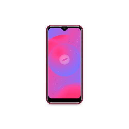 "SPC Smart 2 – Smartphone Todo Pantalla de 5.45"" IPS + Carcasa (Dual SIM, 16GB de ROM ampliables, cámaras de 5MP, Quad-Core 1,3GHz, Radio FM, Android 10 Go) Rojo"