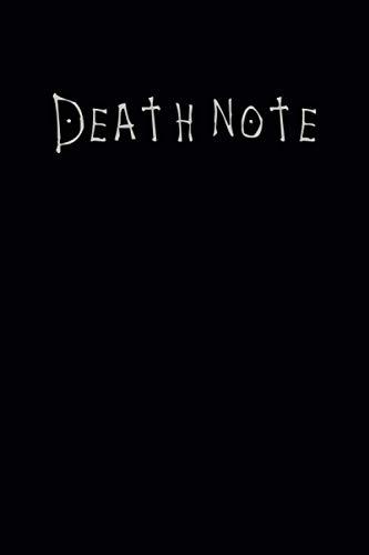 Death Note: Edizione Nera - Regalo per taccuino - Diario per i fan di Anime o Manga Death Note - Carta a righe vuote - 120 pagine - 6 x 9 pollici - 15,24 x 22,86 cm