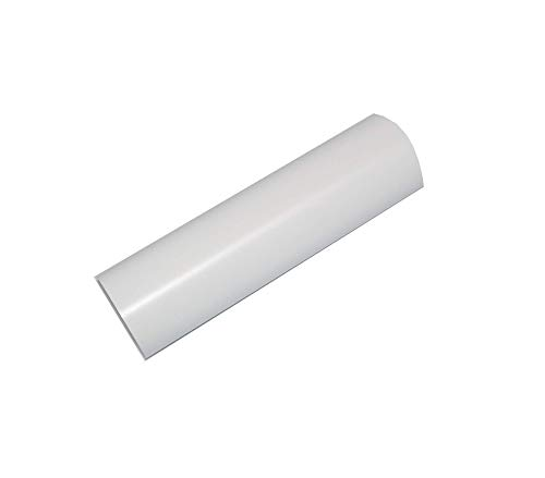 """Vinyl Ease 24"""" x 30 ft Roll Glossy White Permanent Adhesive Vinyl for Cricut, Silhouette, Pazzles, Craft ROBO, QuicKutz, Craft Cutters, Die Cutters, Sign Plotters - V0700"""
