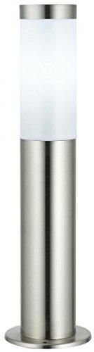 Preisvergleich Produktbild Unbekannt Wegeleuchte Edelstahl,  Zwei Größen,  mit und ohne Bewegungsmelder (45 cm ohne Bewegungsmelder)