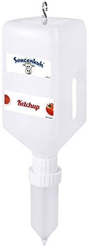 Saucenkuh - Dispensador de alimentos (tamaño pequeño, 2,7 cm)