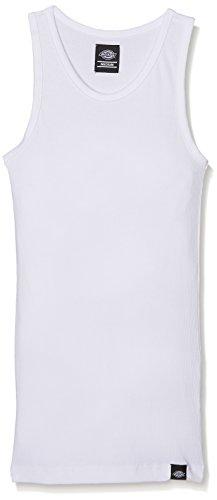 Dickies Mannen 06 210115 - Bewijs Pack Empire Plain Mouwloos Vest Normale pasvorm. M Kleur: wit
