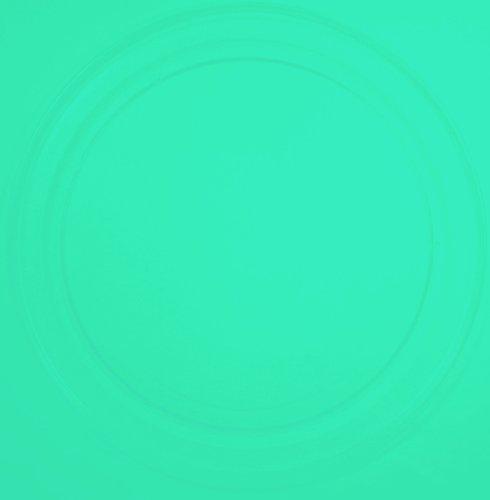 Mikrowellenteller / Drehteller / Glasteller für Mikrowelle # ersetzt Wercom Mikrowellenteller # Durchmesser Ø 36 cm / 360 mm # Ersatzteller # Ersatzteil für die Mikrowelle # Ersatz-Drehteller # OHNE Drehring # OHNE Drehkreuz # OHNE Mitnehmer