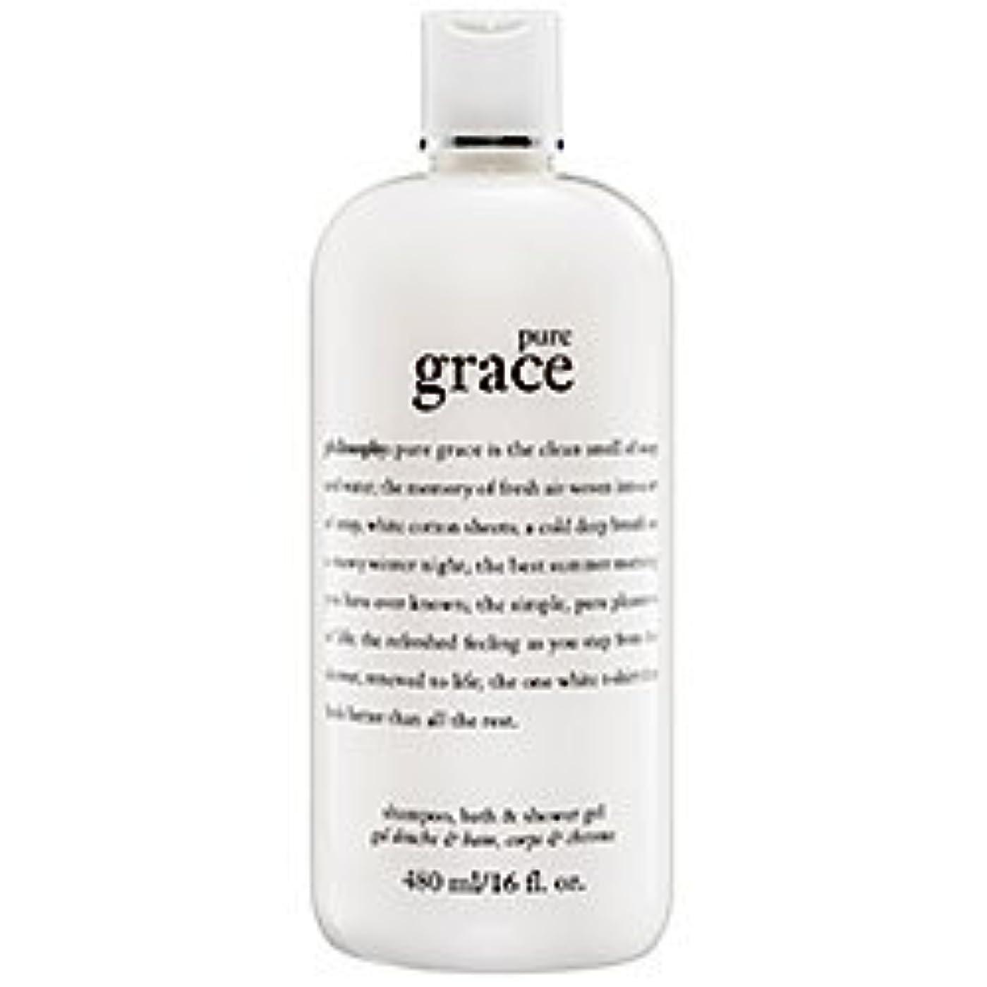 磁石コンクリート不忠pure grace (ピュアグレイス ) 16.0 oz (480ml) foaming bath and shower gel for Women