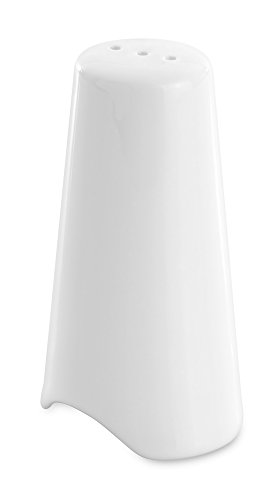 Berghoff Eclipse Contemporary Vitrified Porcelain Pepper Pot, White