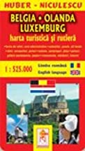 Belgia Olanda Luxemburg Harta Turistica Si Rutiera Huber