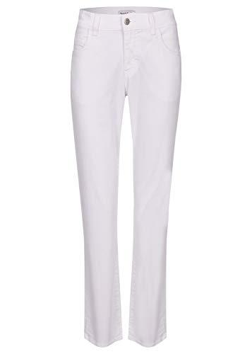 Angels Damen Jeans 'Dolly' mit gefärbtem Denim, Weiß, 46W / 30L