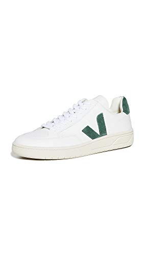 Veja V-12 Leather Sneaker White & Green-43