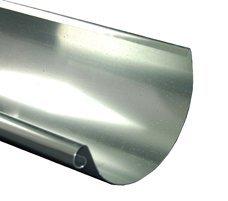 Dachrinne Titanzink 2 m lang in 3 Größen (groß-6 TLG RG 150 NG 333)