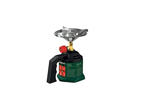 Hornillo de gas para camping / lámpara de camping / lámpara de camping / soldador de cartuchos, regulable sin niveles, ideal para viajes, acampadas