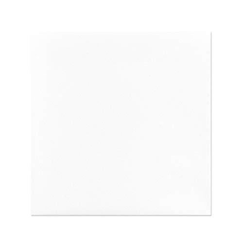 Quadratische Umschläge, selbstklebend, 17x17cm, weiß, 20 Stück | Briefumschläge, Kuvert, Briefkuvert, Briefhülle für Grußkarten, Einladung, Geburtstagskarten