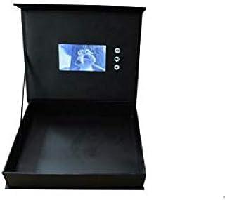 صندوق هدايا مع جهاز عرض الكتروني