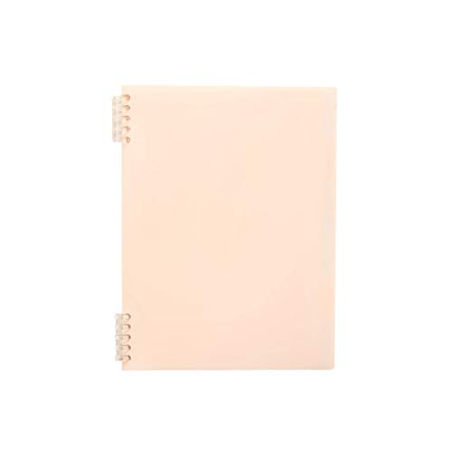 seeyouagan A5 B5 Loose-Leaf Refillable Notebook Review Excerpts Study Notebook School Office Stationery