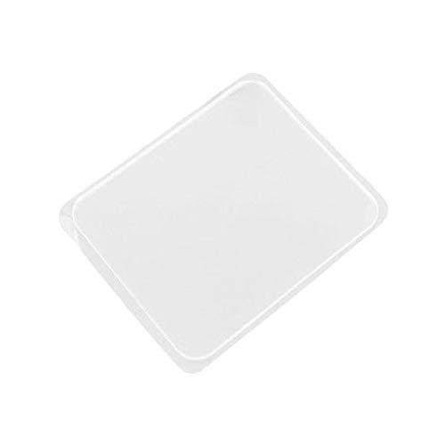 HINK Tapis de Bain tampons en Gel de Silicone tampons de Gel antidérapants Transparents Supports de Gel automatiques 6 pièces Maison et Jardin Entretien ménager et organisateurs