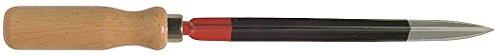 Stubai 116101 Grattoir triangulaire 125 mm