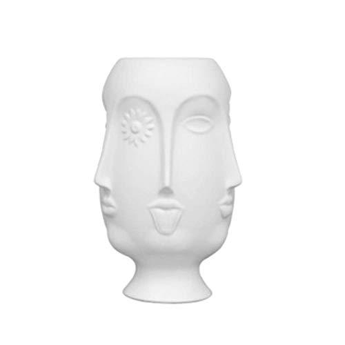 Standbeelden Ornamenten Veelzijdige Muzen Gezicht Keramische Vaas Home Decor Fashion Sexy Lippen Bloemenvaas Voor Huwelijksgeschenken