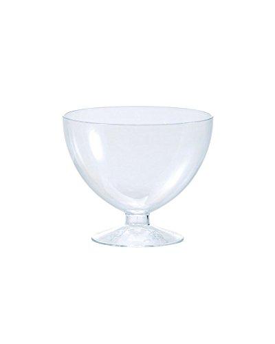 Martellato pmoco004 Wegwerpglas, 175 ml, transparant
