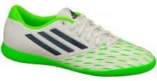 adidas FF Speedkick J IC White/Green Size 2