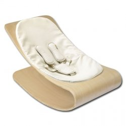 bloom coco baby lounger, Wippe natur weiss