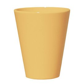 Gartentraum.de Frostsicheres Pflanzgefäß »Amphiro Giallo« rund aus Steinzeug in gelb