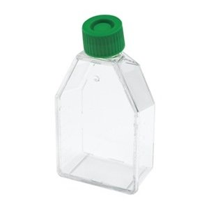 Celltreat 229330 Tissue Culture Treated Flask, Plug Seal Cap, Sterile, 250mL Capacity, 25cm2 Size (Case of 200)