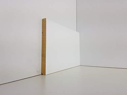 battiscopa in legno massello da 10 centimentri bordo quadro (prezzo per metro lineare, inserire nella casella i metri NON il numero di aste)
