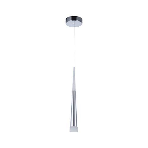Lámpara colgante moderna, STARRYOL 7W LED Lámpara de techo con estilo cono, perfecta para sala de estar, restaurante, dormitorio, cafetería, etc. - Luz blanca 6000K