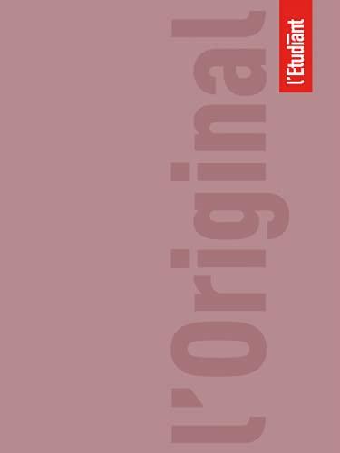 LETUDIANT Original Agenda Scolaire Aout 2021 ‐ Août 2022 Journalier Format 15x20cm Couverture Vieux Rose