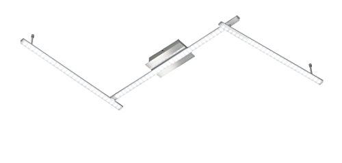 WOFI Deckenleuchte, 3-flammig Clay 3 x LED / 10 W, 11 x 9 x 180 cm, 3000 k, 820 lm, Energieeffizenzk