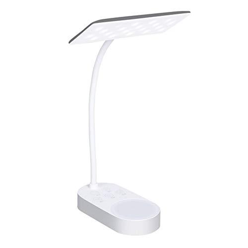 Doble Lámpara De Carga USB 5 Paradas Fría Caliente del Cuadro De Luz De Lámpara De Escritorio Mesa De Iluminación LED Lámparas De Escritorio Lámpara Flexible Flexo