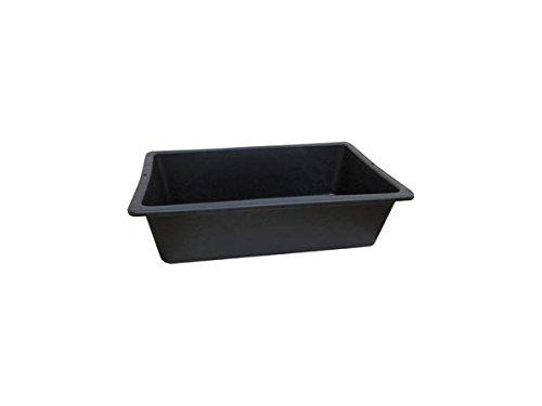 Perel HED100030- Cubeta de obra de plástico Taliaplast (25l)