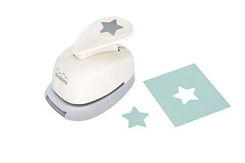 Bira 5/8 inch Star Shape, Christmas Punch, Lever Action Craft Punch for Paper Crafting Scrapbooking Cards Arts