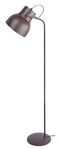Tosel 95067 Lampadaire - Cloche, Acier, E27, 60 W, Marron
