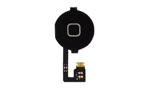 gsm-company*de Home Button + Homebutton Flex Kabel für iPhone 4 4G bl.