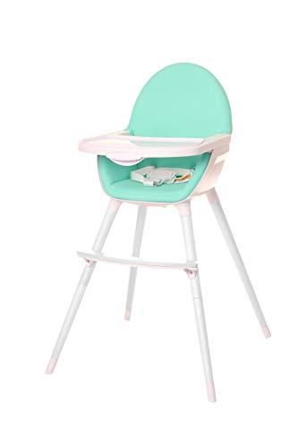 Osann Hochstuhl Uno 2-in-1 für Kinder bis 17 kg - Babyhochstuhl Kinderhochstuhl mit Tisch - Green
