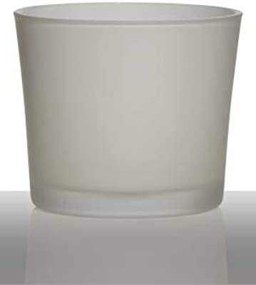VERDE Cotto e ceramica Vaso Orchidea Diametro 13 Cm Altezza 18 Cm