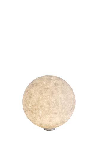 In-es.artdesign IN-ES03001 Ex Moon 1 Eclairage pour Chemin Blanc
