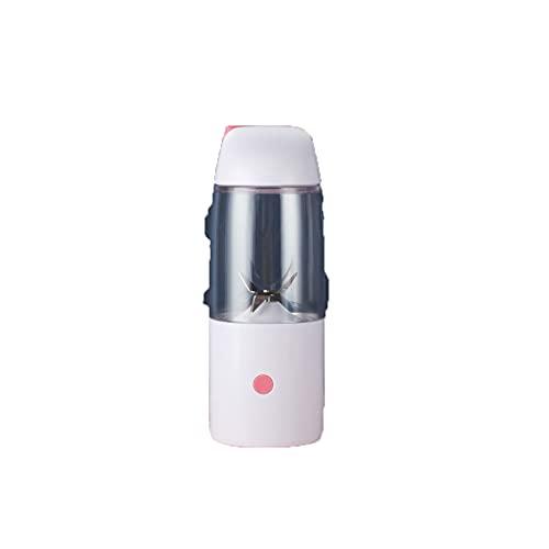 Mini licuadora portátil, mini taza de exprimidor personal inalámbrico, exprimidor eléctrico recargable USB,Pink