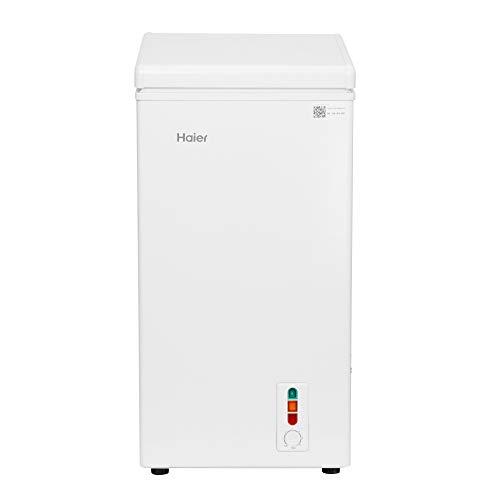 Haier HCF100HTQ - Single Door Hard Top Deep Freezer, Net Storage Volume 66 litres, White
