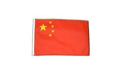 Fahne Flagge China 30 x 45 cm