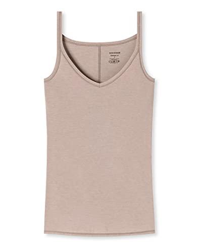 Schiesser Personal Fit - Camiseta para espaguetis (3 unidades) marrón XL