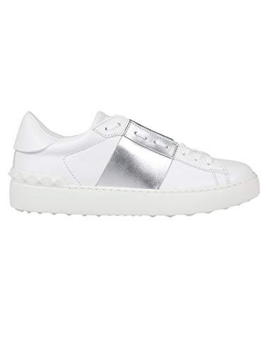Luxury Fashion | Valentino Garavani Heren TY2S0830FLR857 Grijs Leer Sneakers | Lente-zomer 20