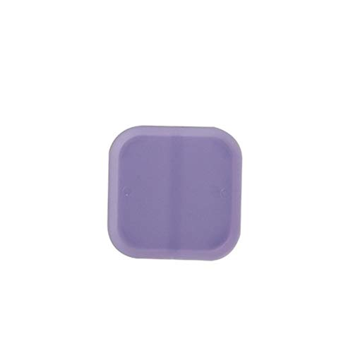 Pratique 6cm Mini carré usine de plastique Pot de fleurs Plateaux jardin Bureau Balcon Décor coloré Planteur Pots châssis Plateau décoratif (Color : Purple)