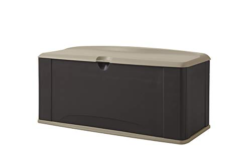 Rubbermaid Roughneck Extra Large Resin Weather Resistant Outdoor Garden Storage Deck Box -  2084364