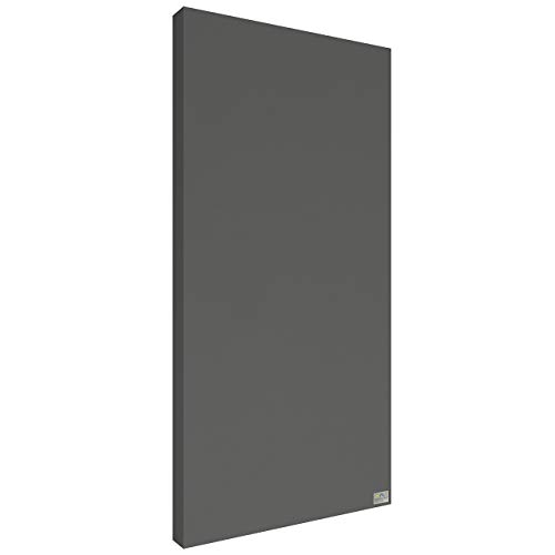 Schallabsorber Premium 100x50x6 cm by Addictive Sound – Akustikplatten Akustikbild – Viele Farben - 16.Grau