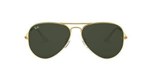 Ray-Ban Aviator Classic, Gold/ Grey Green, 62 mm