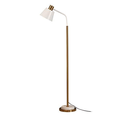 Stehlampen. Stehlampe Einfach amerikanisches Luxus Wohnzimmer Schlafzimmer Stehleuchte Büro-Studien Raum Lesebeleuchtung Vertikale Lichter Piano Licht (Color : B)