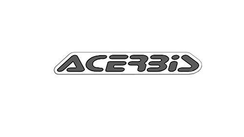 Aufkleber für ACERBIS weiß/schwarz