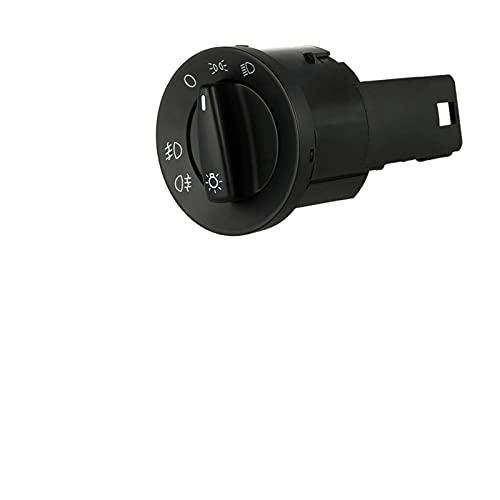 RJJX Interruptor de Control de Faros Fit para VW Jetta Bora Golf MK4 Passat B5 Beetle T5 Polo 9n Sharan Lupo 1995-2005 3BD941531 / 3BD 941 531 531 (Color : 1C0941531A)